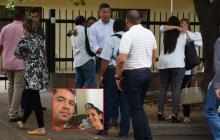 Familiares de las víctimas a su llegada a Medicina Legal.