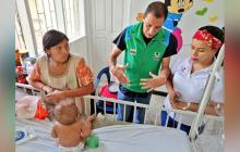 En La Guajira atienden a 16 niños con desnutrición, 10 de ellos venezolanos