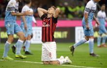 El Milan de Cristian Zapata, eliminado de la Copa Italia