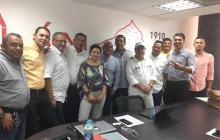 Alcaldes municipales del Magdalena luego de la Ocadton municipal.