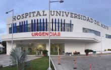 La víctima está en el Hospital Universidad del Norte.