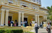 Sede de la Sociedad de Acueducto, Alcantarillado y Aseo (Triple A), ubicada en el norte de Barranquilla.