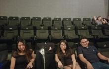 Jazmín Ochoa, amiga del joven fallecido y otros amigos rindieron homenaje en el cine.