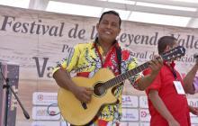 Leonardo Salcedo, ganador canción inédita 2018.