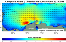 Fuertes vientos y oleaje seguirán en Atlántico, Magdalena y La Guajira