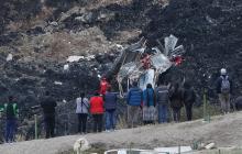 En video | La impactante caída de casas por deslizamientos en Bolivia