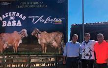 """""""Vía láctea Brazil gracias por la invitación y con grandes amigos"""", escribió José Guillermo Hernández (primero a la izquierda) en su cuenta de Instagram el pasado domingo 28 de abril de 2019."""