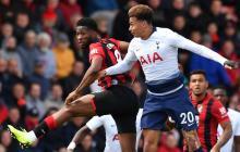 El Bournemouth de Lerma vence al Tottenham de Davinson