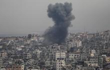 Mueren dos israelíes en el lanzamiento masivo de cohetes desde Gaza
