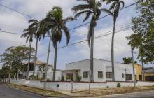 Vista donde se puede apreciar la situación actual de la casa Carrerá, ubicada en el barrio Bellavista.