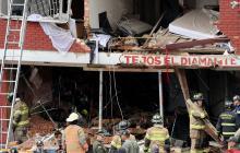 Explosión en Bogotá: 4 muertos