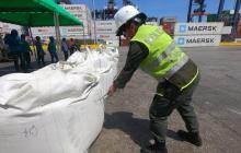 En video   Caen 2,2 toneladas en Puerto de Santa Marta que iba para Bélgica