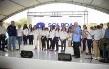 El acto protocolario fue presidido por el alcalde Herrera.