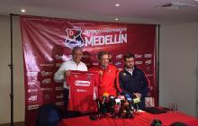 Alexis Mendoza, nuevo DT del Medellín.