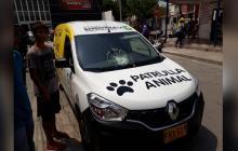 Agreden a Patrulla Animal en el barrio Los Olivos I