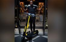 Usain Bolt lanza un servicio de patinetes eléctricos en París