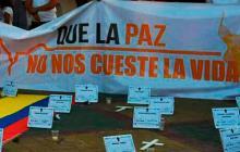 En los últimos 15 meses han asesinado a 317 líderes sociales en Colombia