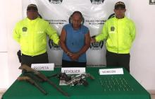 Lo señalan de empeñar y alquilar armas de fuego a delincuencia común