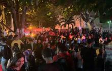 En video   Incendio en el área administrativa de la Universidad Autónoma
