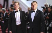 Leonardo DiCaprio y Brad Pitt  deslumbran en la alfombra roja de Cannes
