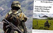 Colombia pone en duda la veracidad del artículo NYT sobre 'falsos positivos'