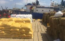 La Guajira exportó sesenta toneladas de productos hacia Curazao