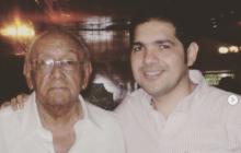 Fallece padre de Peter Manjarrés