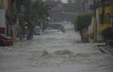 En video | Reportan fuertes lluvias desde distintos sectores de la ciudad