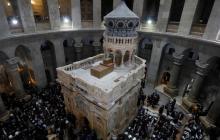 Se realizarán trabajos de renovación en el suelo del Santo Sepulcro