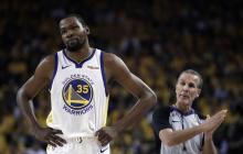 Durant tampoco jugará el segundo partido de la Final de la NBA