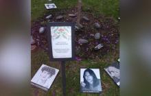 Acto simbólico en honor a las víctimas de la toma del Palacio de Justicia.