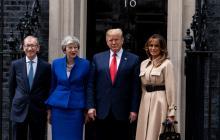 Trump confía en acuerdo comercial con Reino Unido