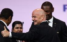 El presidente de la Fifa Gianni Infantino fue reelegido.