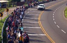 Estados Unidos aumenta el número de detenciones de migrantes en frontera con México
