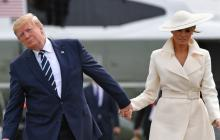 Los Trump en el palacio de Buckingham, una visita captada en Instagram