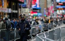 Policía de Nueva York detiene a un hombre que quería atentar en Times Square