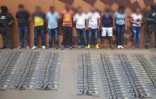 Desarticulan banda dedicada al narcotráfico en Colombia y Ecuador