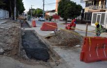 Vecinos de Boston y El Prado exigen agilizar obras en vía