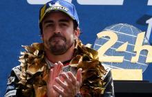 """""""No es mi última vuelta en Le Mans, volveré"""": Fernando Alonso"""