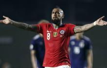 """Arturo Vidal celebra """"empezar con el pie derecho"""" tras goleada de Chile a Japón"""