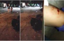 En video | Reportan enfrentamiento a piedra y tiros entre policías y habitantes de Ferrocarril