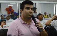 Gustavo Negrete, concejal sancionado.