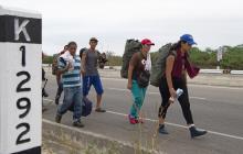 341.800 venezolanos pidieron asilo internacional el año pasado.