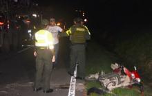 El 75% de accidentes fatales en Sucre son en moto: Policía
