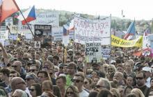 Manifestación en República Checa pide renuncia del primer ministro
