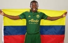 Diego Chará, el único colombiano en el partido de las estrellas de la MLS