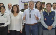 Duque anuncia plan para mitigar afectaciones por ola invernal en Putumayo
