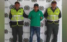 Francisco Javier Ravelo Correa, capturado.