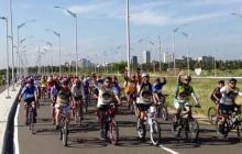 Grupo de ciclistas.