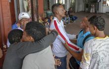 En video | Llegaron a Barranquilla 9 de los costeños presos en Venezuela